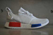 Adidas NMD Runner OG Primeknit PK - White/Red-Blue