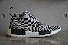 Adidas NMD City Sock CS1 PK Primeknit - Black/White 7 UK