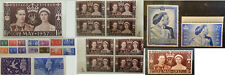 Great Britain GB Stamps King George VI Commemorative  MNH MH & Used