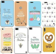 TPU Gel Silicona Carcasa Funda Apple iPhone 5 6 6S Plus 7 8 X FRASES DIVERTIDAS