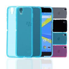 32nd Clear Gel Series - Transparent TPU Silicone Case Cover - Blackberry DTEK50