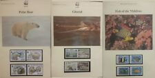 WWF  World Wildlife Fund Stamps FDC + Maximum Cards MNH + Used Multiple Listing
