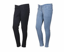 Indistar Women's Low Waist Black Skinny Jeans Pack of 2 (71900-0102-IW-P2)