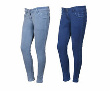 Indistar Women's Low Waist Grey Skinny Jeans Pack of 2 (71900-0204-IW-P2)