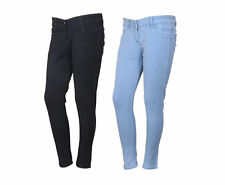 Indistar Women's Low Waist Black Skinny Jeans Pack of 2 (71900-0103-IW-P2)