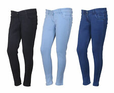 Indistar Women's Low Waist Black Skinny Jeans Pack of 3 (71900-010304-IW-P3)