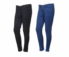 Indistar Women's Low Waist Black Skinny Jeans Pack of 2 (71900-0104-IW-P2)