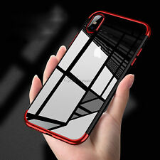 para Apple iPhone x 10/8/8 PLUS DE LUJO HÍBRIDO CARCASA TPU FUNDA PROTECTORA