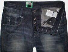 G-Star Raw Jeans Pantaloni Uomo NUOVO Radar Low sciolto Memphis BLACK SCURO