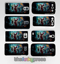 Marvel The Avengers Coque Rigide En Plastique Samsung Galaxy S6 S7 S8 Edge Plus
