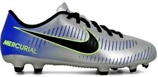 Nike Mercurial Vortex lll Neymar Junior Firm Ground Football Boots - FG Silver