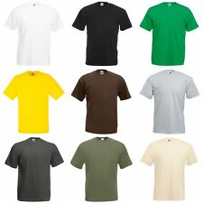T-shirt à manches courtes Fruit Of The Loom, 100% coton, pour homme (S-3XL)