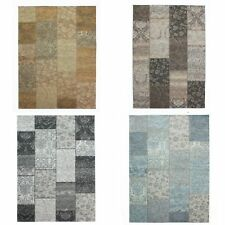 Flair Rugs - Alfombra modelo Manhattan Chenille Patchwork Tapestry