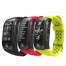 Bluetooth Impermeable IP68 GPS Smart Watch Podómetro Heart Rate Para Andriod iOS