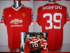 Manchester United Adidas BNWT Adult XL Various FA Cup 2016 Soccer Shirt Jersey