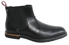 Timberland Earthkeepers RUSCELLO Park Uomo Chelsea NERA PELLE STIVALI 5517a T7
