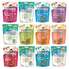 Wagg 125g Treats Chicken Lamb Good Tasty Bone Low Fat Cheese Puppy Dog Training
