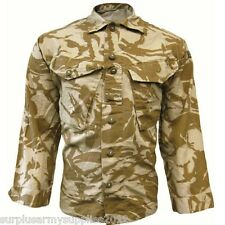 Ejército Británico 95 Camisa Desierto Combate Ligero Jacket Paintballing AIRSOFT