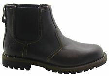 Timberland Earthkeepers Larchmont Chelsea Botas hombre cuero marrón 9706a d82