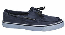 Sperry Top Sider Bahama Womens Lace Up 2 Eye Navy Boat Shoes STS91304 U23