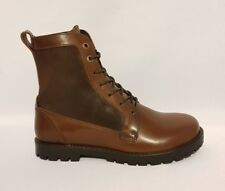 BIRKENSTOCK GILFORD HIGH BROWN & BLACK LEATHER ANKLE BOOTS LADIES SIZE 3.5
