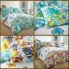 New Tropical Island Duvet Cover Pillowcase Quilt Cover Bedding Set All Size