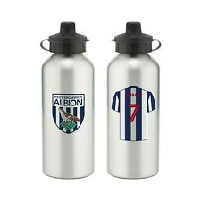Personalised WEST BROMWICH ALBION Football Club FC Sports Water Bottle Sport