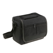 Portable Camera Waterproof Shoulder Bag with Inserts for Nikon Canon Lens