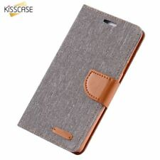 Flip Cloth Case For Samsung S8 Plus S7 S7 Edge S6 Edge Note 8 5 Wallet Card Slot