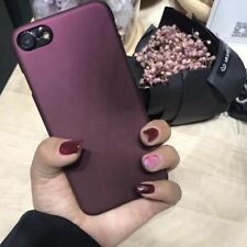 Wine Red Case For iphone 7 Case For iphone 6 6S 7 7 Plus 5 5S SE