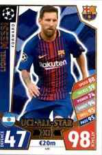 UCL All-Star XI - MATCH ATTAX - CHAMPIONS LEAGUE 2017-18