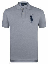 Men's Ralph Lauren Short Sleeve Polo T Shirt Top Big Pony 100% Genuine Bnwt New