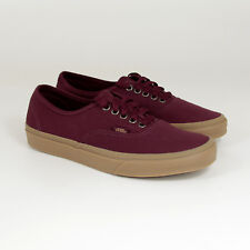 Vans, Authentic LUMINOSO gomma, port royale / bordeaux, Sneakers, Scarpe skate ,