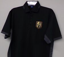 Vegas Golden Knights Mens Dry Zone® Colorblock Embroidered Polo XS-6XL New