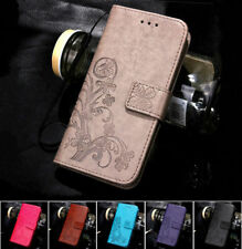 For Xiaomi Redmi Flip Magnetic Floral Print Leather Silicone Wallet Case Cover S