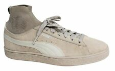 Puma Suede Classic Sock Lace Up Beige Leather Mens Trainers 364074 02 D76
