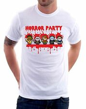 t-shirt humor Horror party - To give happiness by tshirteria d125