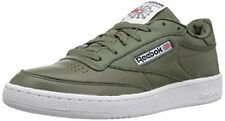 Reebok Men's Club C 85 SO Fashion Sneaker, Hunter Green/Primal Red/Black/White/