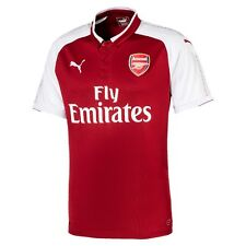 Official Puma Arsenal Gunners Junior Kid Youth Home Football shirt top 2017/2018