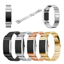 1 Bead Stainless Steel Watch Band For Fitbit Charge 2 Strap Bracelet Wristband
