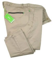 BOSS Green Pantalón Chino Hombre LEEMAN ( slim fit ) Beige Stretch