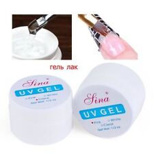 Pink White Clear Color Options UV Gel Builder Gel Extend Nail Art Tips
