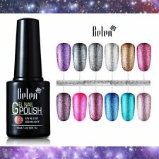 10ML Glitter Nail Art Gel Polish UV Polish Semi Permanent Gel-Lacquer