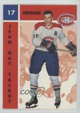 1995 Parkhurst 1966-67 Design #68 Jean-Guy Talbot Montreal Canadiens Hockey Card