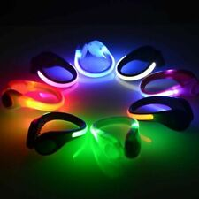 Outdoor Safety Shoe Clip Night Running Walking Cycling Bicycle LED Sport Light