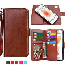 For Samsung Galaxy NOTE 8 S8 Plus Magnetic Case Stand Leather Card Wal