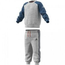 ADIDAS BABY INFANT KIDS BOYS TODDLER TRACKSUIT SET PLAY GYM COTTON/POLY BP5287