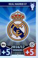 REAL MADRID - MATCH ATTAX CHAMPIONS 2017-18