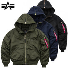 ALPHA INDUSTRIES giacca uomo n2-b VF PM invernale Bomber S M L XL XXL