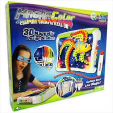 Magna Color 3D Magnetic Design Station Kids Art Drawing Board Supplies Pad